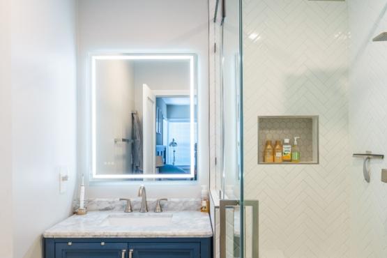 Master Bathroom Remodel in Hawthorne  | Pearl Remodeling